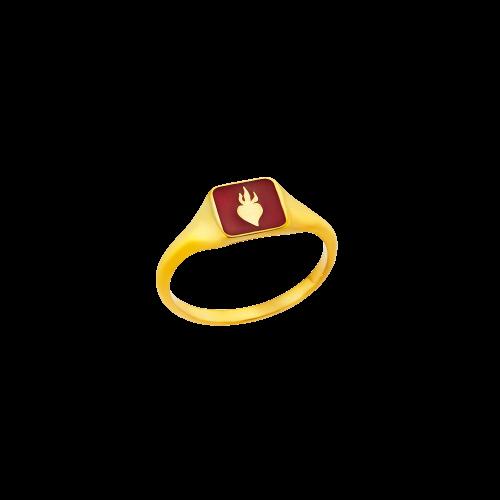 Δαχτυλίδι ΦΛΟΓΑ